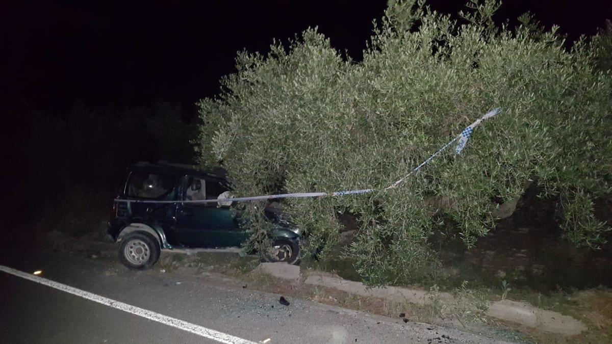 Detenido en Moratalla tras embestir varias veces su vehículo contra otro