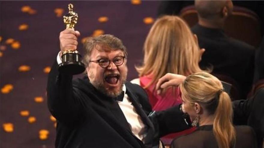 'La forma del agua' y Del Toro reinan en los Oscar