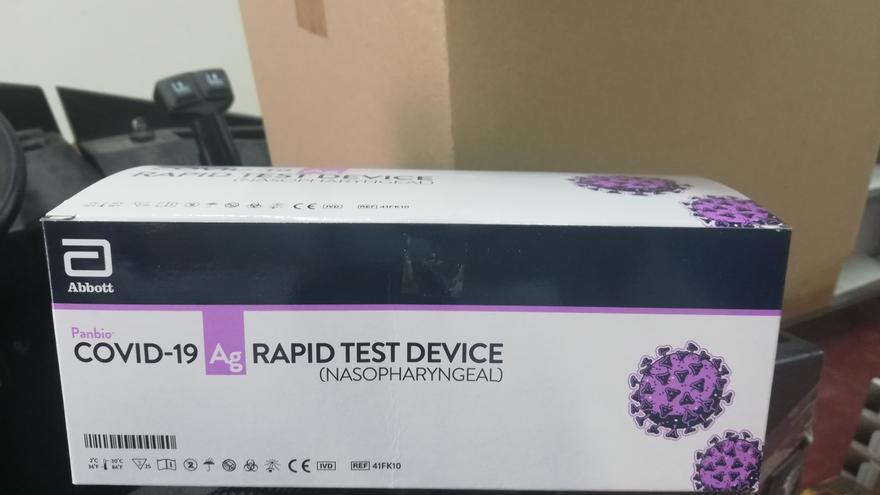 Incautan más de 3.300 test rápidos de covid-19 destinados a la venta ilegal