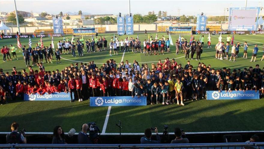 El futuro del fútbol español ya está listo para competir en la Ciudad Deportiva Pamesa