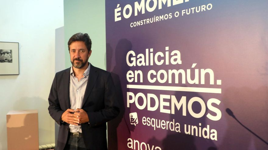 """Gómez-Reino reivindica que el cambio es """"posible"""" en la Xunta y que """"está a un paso"""""""