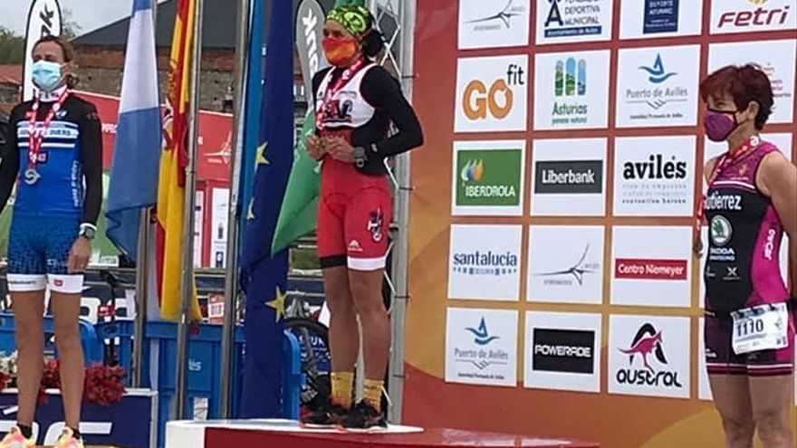 La zamorana Pepa García, campeona de España de Duatlón