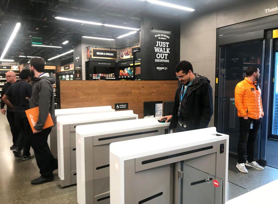 Amazon abre su primer supermecado: sin dependientes ni cajas