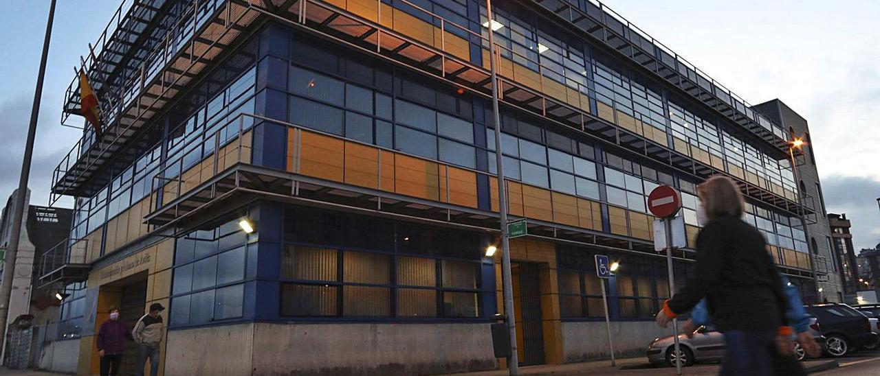 La sede de la Agencia Tributaria en la avenida del Conde de Guadalhorce. | Ricardo Solís