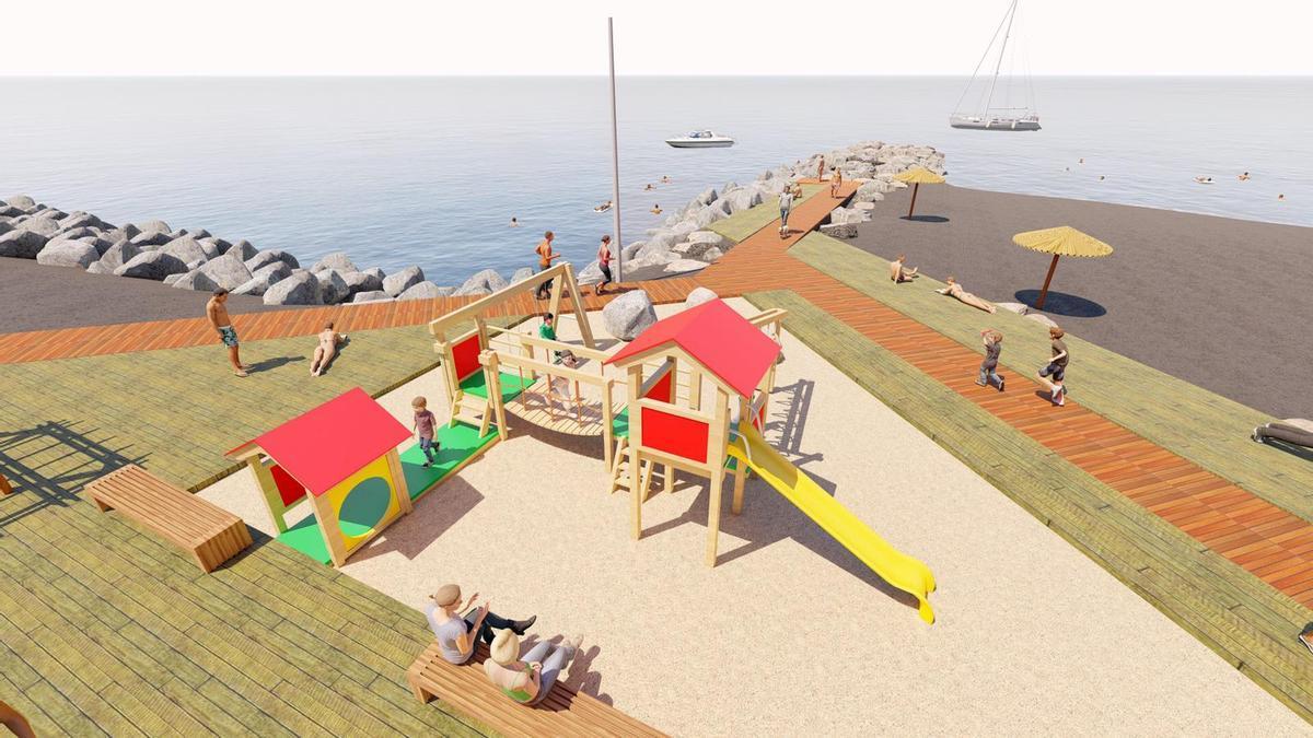 Proyecto de embellecimiento y mejora de la Playa de La Punta.