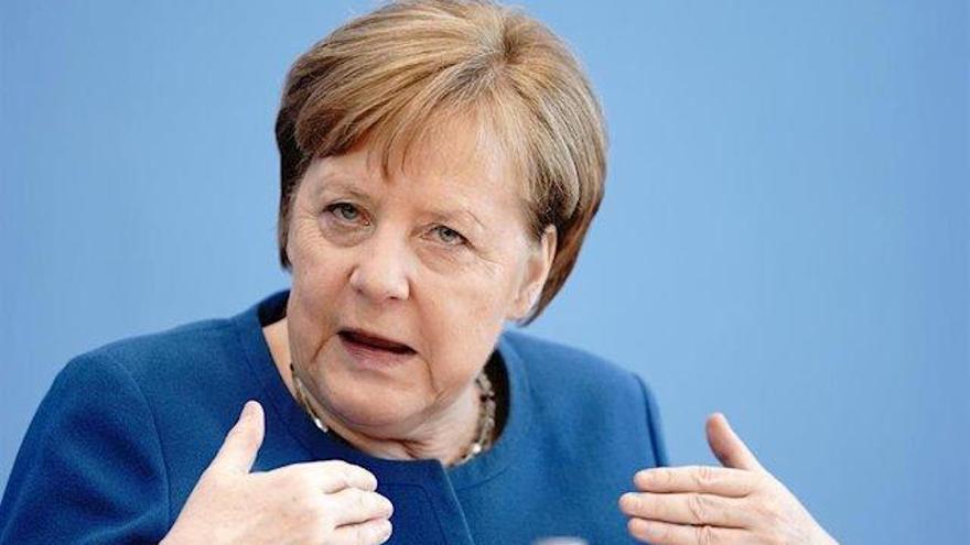 Merkel i Macron aborden amb Von der Leyen i Michel la resposta europea al coronavirus