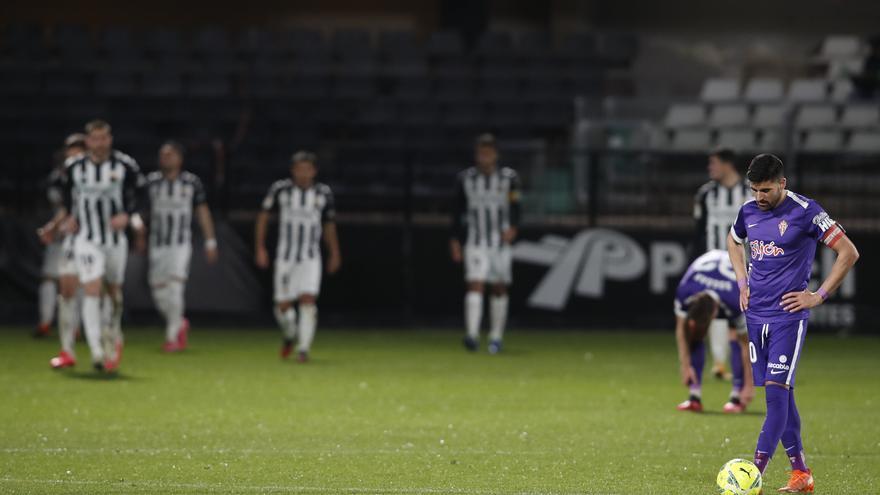 La crónica del Sporting: un equipo plano en Castellón
