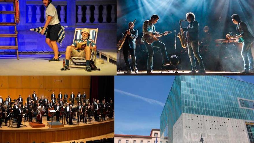 Consulta los actos culturales cancelados o aplazados por el coronavirus en A Coruña