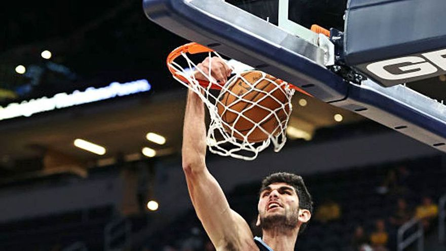 Santi Aldama, al cumpleaños  de la NBA