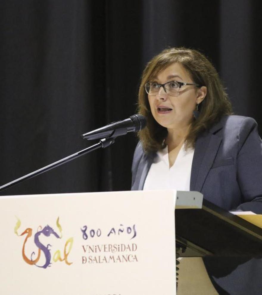 Marisol López del Estal, directora de La Opinión-El Correo de Zamora. Foto: José Luis Fernández