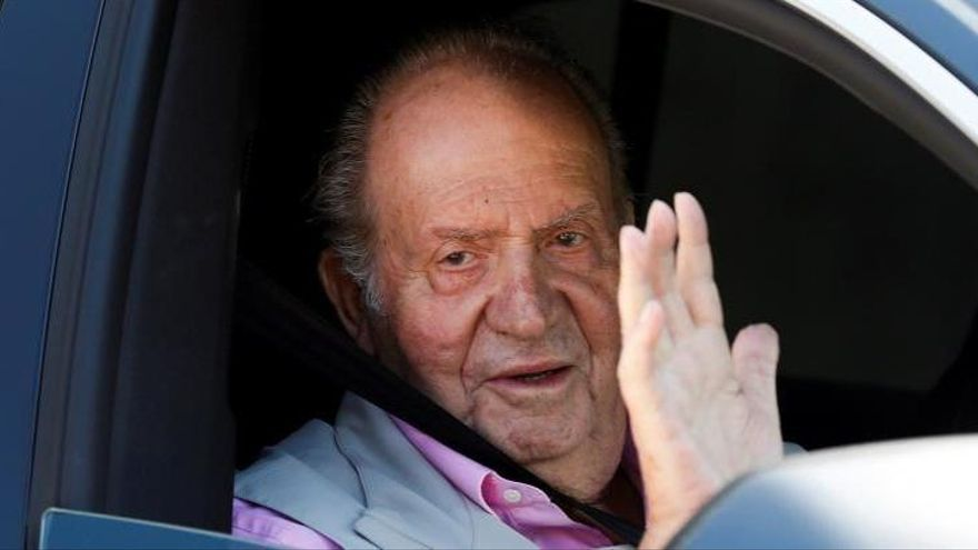 Aufenthaltsort von Altkönig Juan Carlos offiziell bestätigt