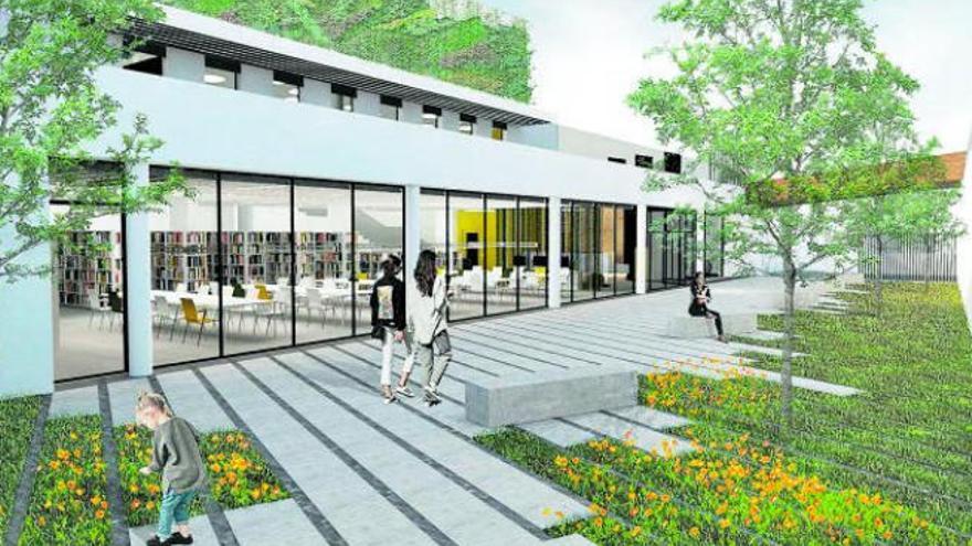 Urbanismo licita los trabajos finales de la biblioteca Josefina de la Torre
