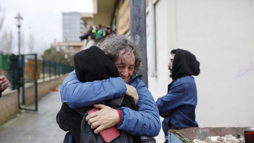 Aplazado el desahucio de la familia zamorana, que afronta la cuarta moratoria desde octubre
