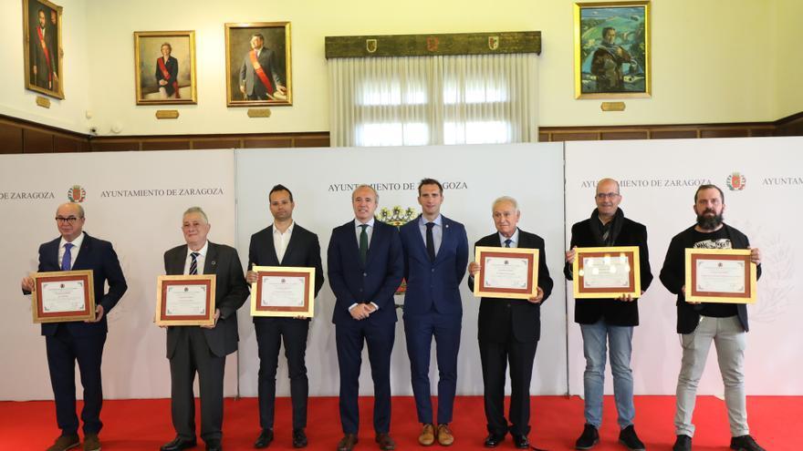 Zaragoza reconoce a sus ciudadanos ejemplares de 2021