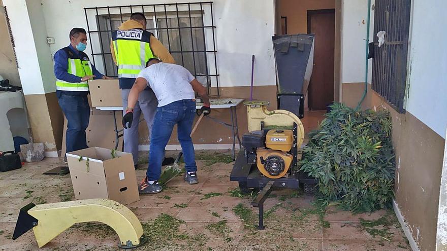 Nueve detenidos por tráfico de cocaína en Chiva, Buñol y Madrid