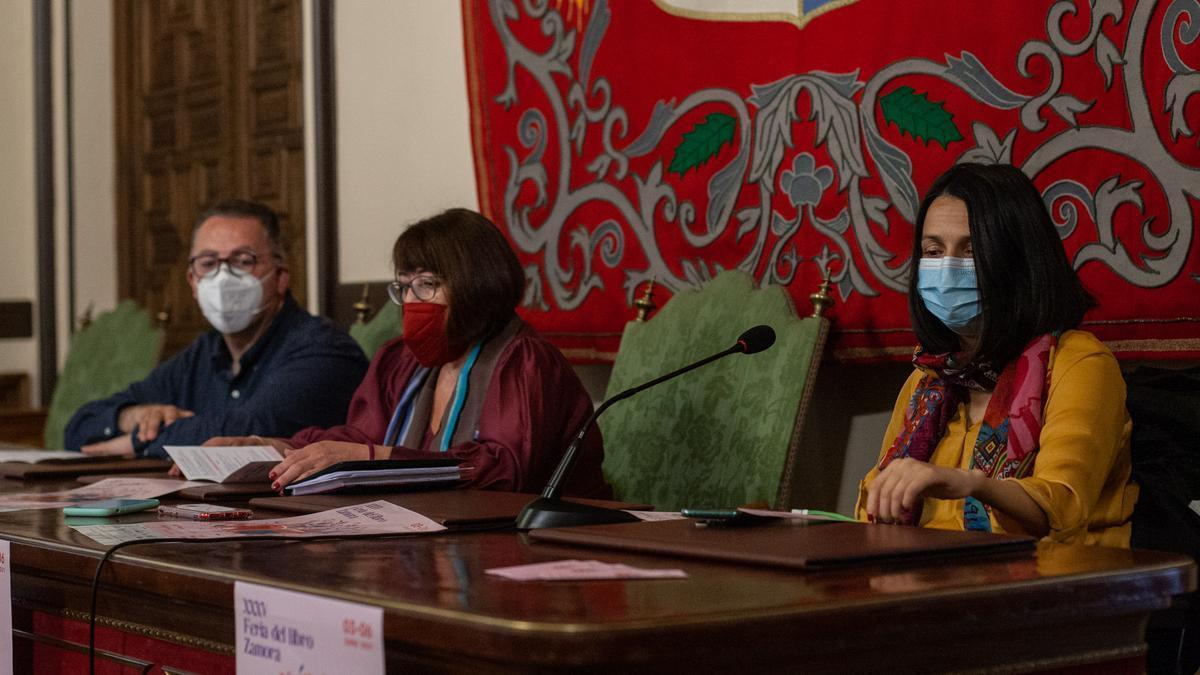 Presentación de la Feria del Libro en el Ayuntamiento de Zamora.