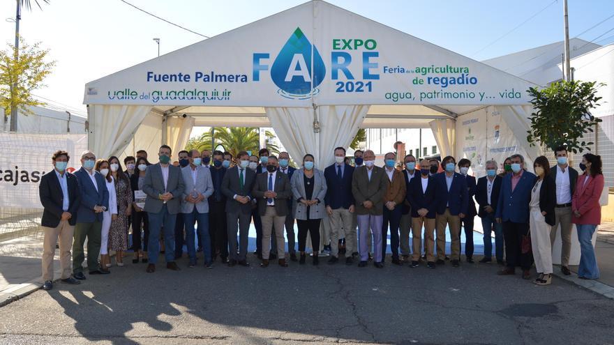 Expofare abre en Fuente Palmera con las últimas novedades aplicadas al regadío