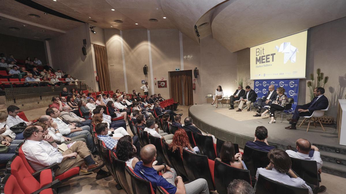 Imagen de archivo del evento Bit Meet celebrado en 2019 en el Club Diario de Mallorca.