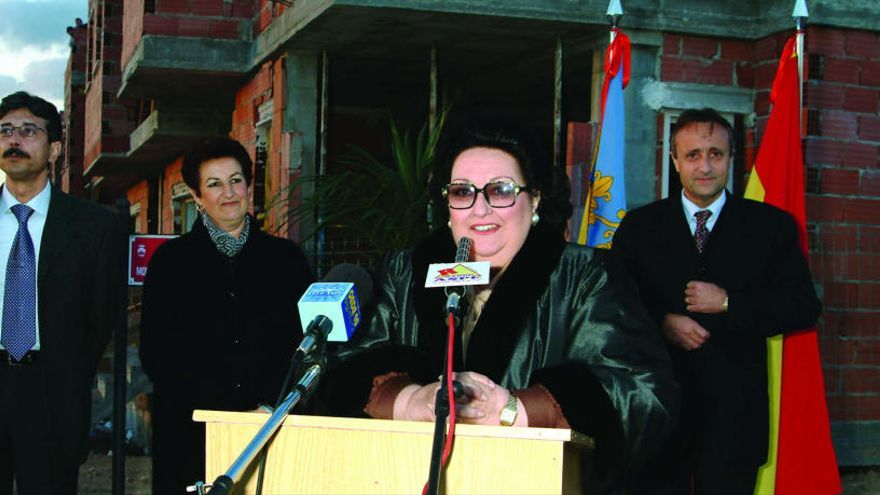Aspe despide a su Hija Adoptiva Montserrat Caballé