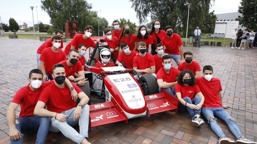Así es el monoplaza eléctrico con el que los estudiantes de Ingeniería de Gijón competirán en Montmeló