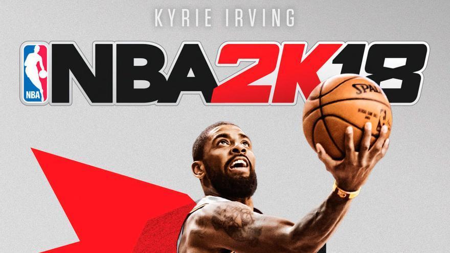 Kyrie Irving, protagonista de la portada de 'NBA 2K18'