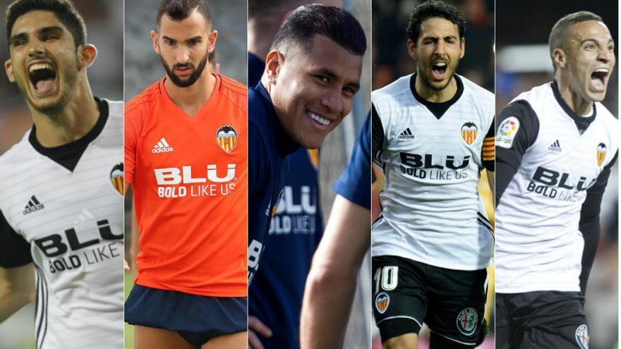 ¿Qué jugadores del Valencia CF pueden ir al Mundial?