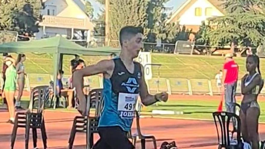 Daniel López (Andiajoa Torrejoncillo), bronce en el nacional sub-16
