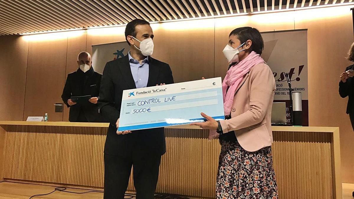 Control Live guanya el premi d'iniciatives empresarials de Manresa