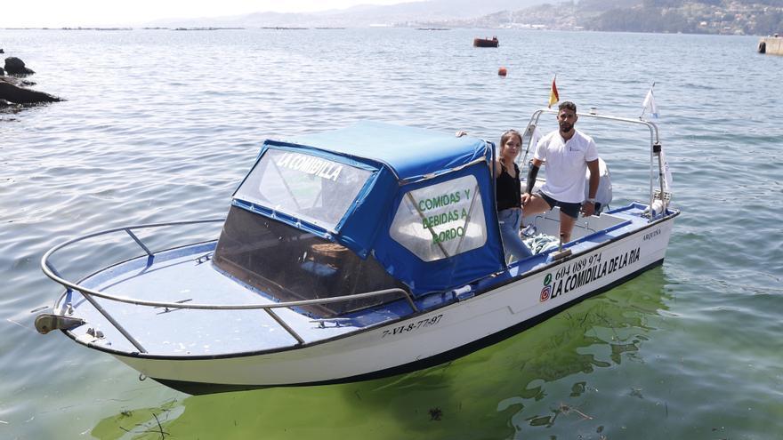 """Un """"Glovo"""" para barcos en la ría de Vigo"""
