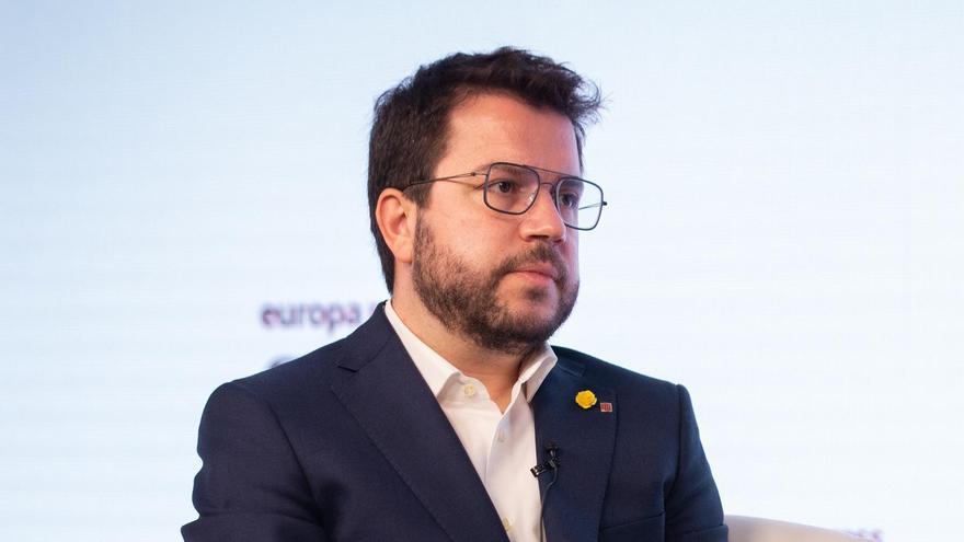 Aragonès pacta con la CUP una cuestión de confianza a mitad de la legislatura en Cataluña