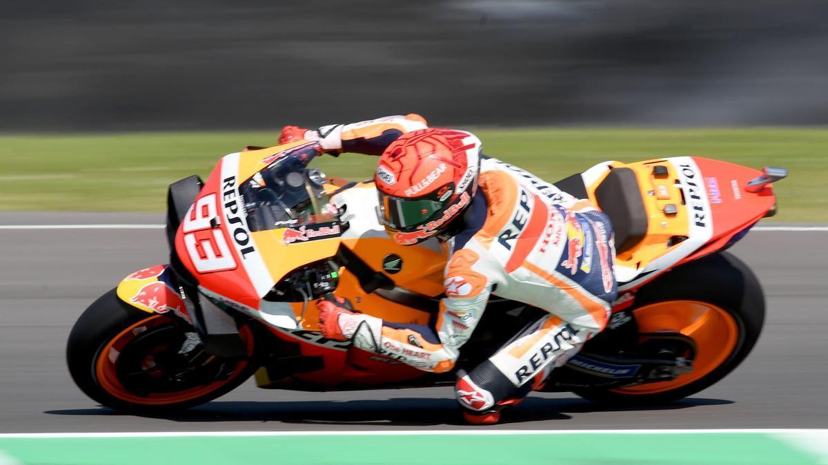 Así que la parrilla de salida de MotoGP en el GP de Italia.