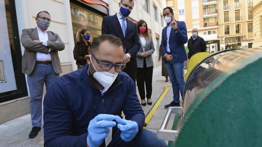 Murcia comienza la fase de detección de covid en contenedores soterrados