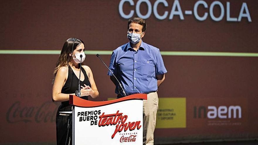Helena Melián, ganadora de la Beca Buero