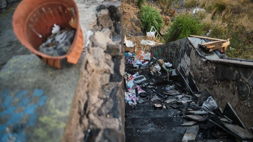"""Vecinos de la calle Benahoare temen que """"cualquier día pase una tragedia"""""""