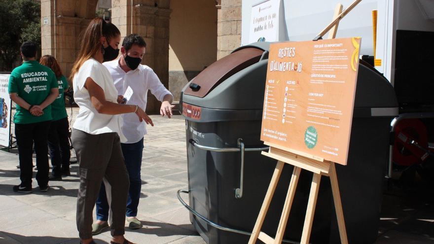 Un año de contenedor marrón en Castelló