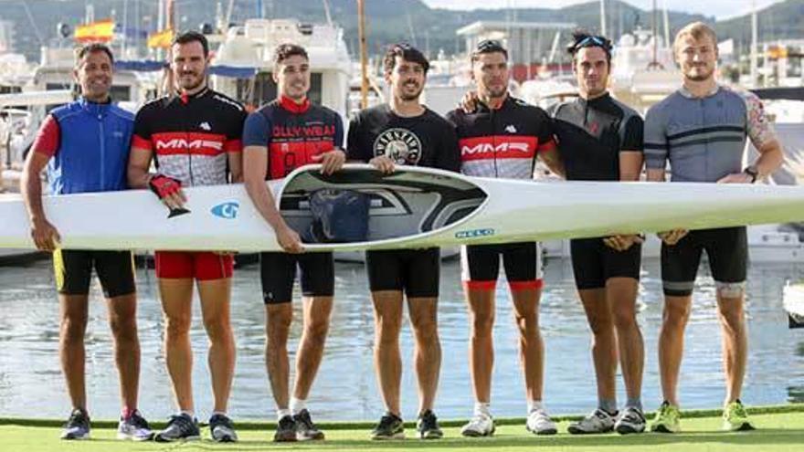 El equipo olímpico, con Miguel García al frente, se rueda en Ibiza