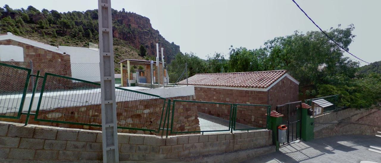 Colegio de Olocau.