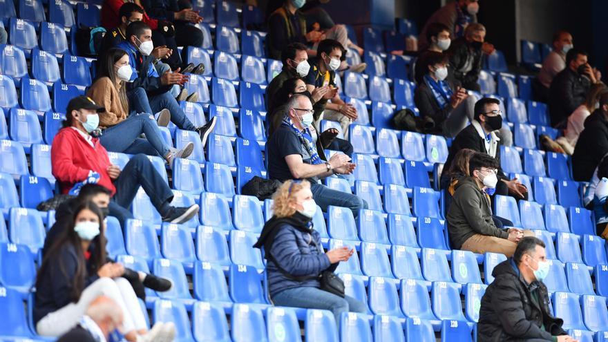 El Deportivo, de nuevo acompañado por el público en Riazor