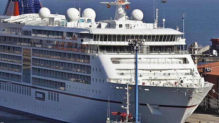 El Musel recibirá de nuevo cruceros tras dos años sin escalas por la pandemia