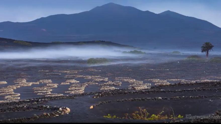 Cielos nubosos y probables lluvias débiles este martes en Canarias