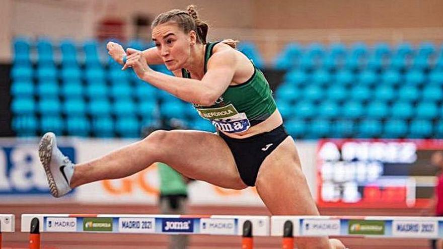 Aitana Radsma es proclama campiona d'Espanya sub20