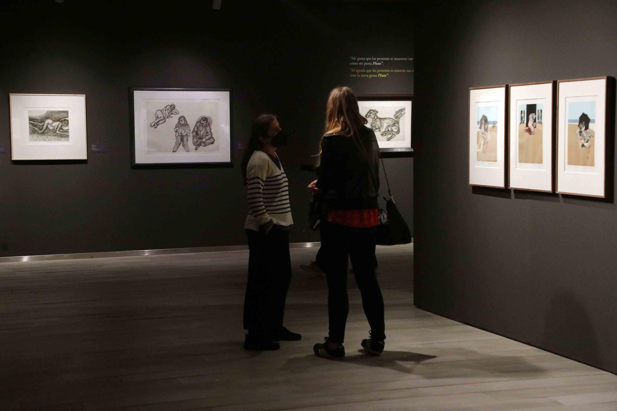 Exposición de Francis Bacon y Lucien Freud en Bancaja