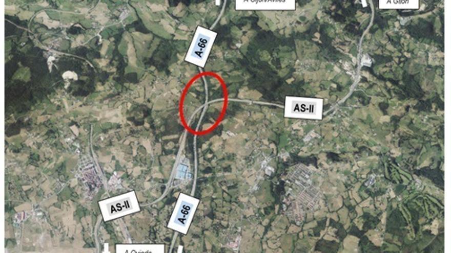 Sale a licitación el contrato para el proyecto del enlace de Robledo entre las autovías A-66 y AS-II