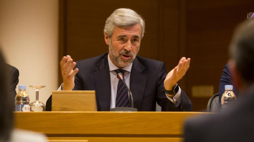 """Acebes: """"Camps pidió que el congreso del PP de 2008 se celebrase en València"""""""