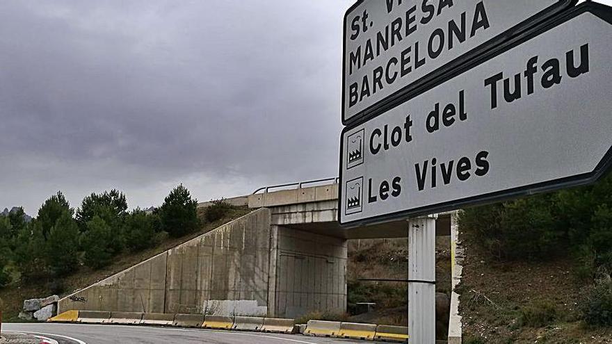 Sant Vicenç ja té encarrilat el futur vial d'accés, però no hi posa data