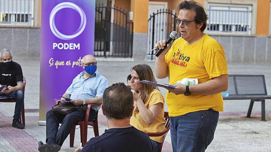 Un ex del PSPV entra en la dirección de Podem en Xàtiva