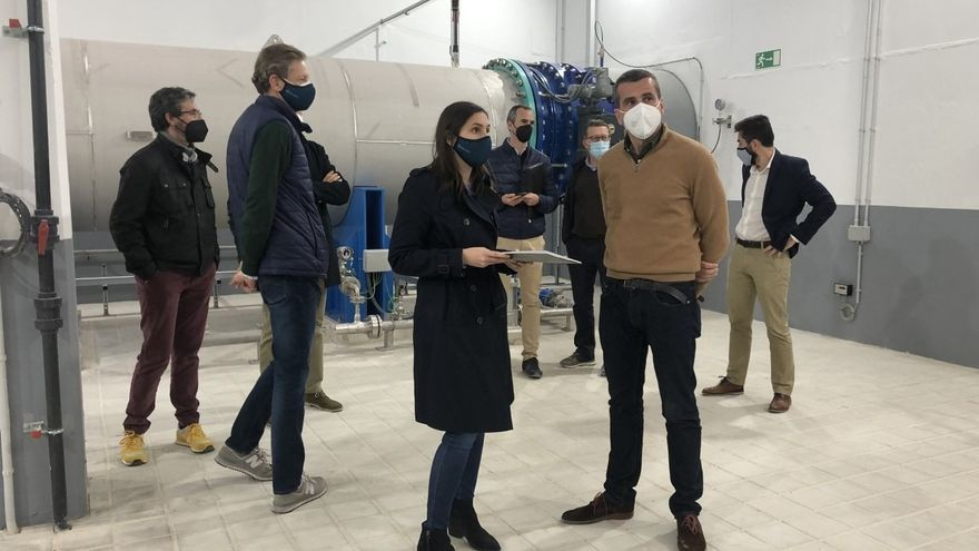 La EMSHI finaliza en El Realón la instalación de la oxidación avanzada que elimina el sabor y el olor terroso del agua