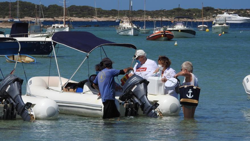 Denuncian el uso «ilegal»  de s'Estany des Peix para el alquiler de barcos