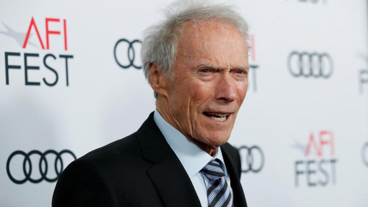 El cineasta Clint Eastwood.