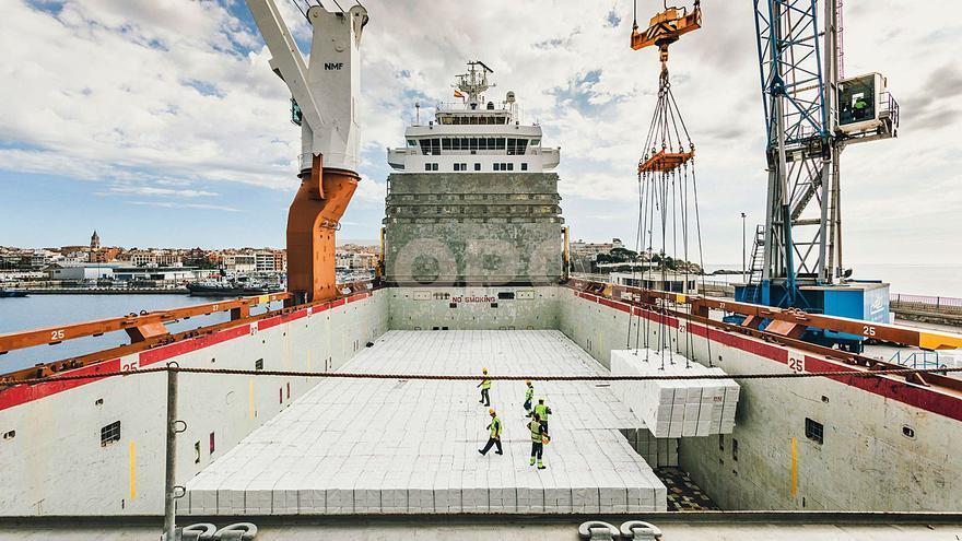 El port de Palamós mou un 53% més de mercaderies que abans de la pandèmia